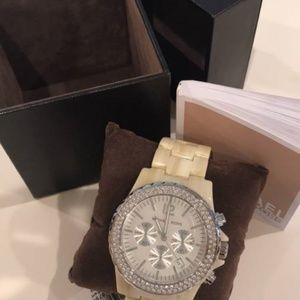 Michael Kors watch (never worn/ tag still attached